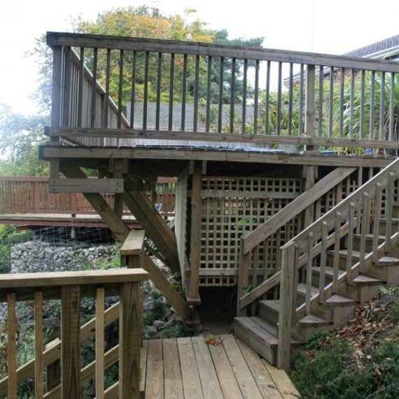 High-Quality Timber Decking