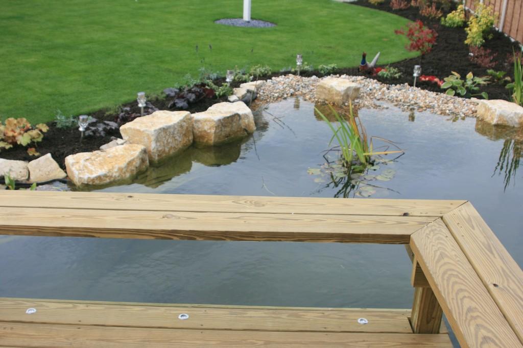 Pond 5 killen landscapes garden design bournemouth for Garden design bournemouth