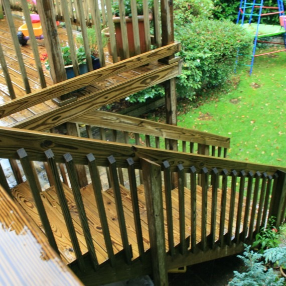 Timber decking for your garden