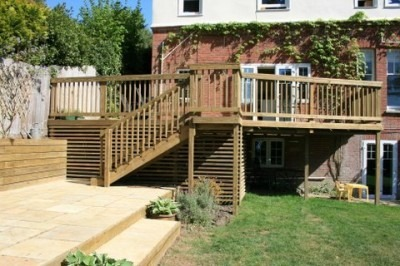 Timber Decking Boards Bournemouth